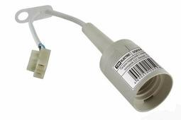 SQ0335-0023 TDM Electric Патрон подвесной с клеммной колодкой, Е27, белый,