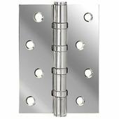 Петля дверная универсальная латунная Armadillo 500-C4 100x75x3 CP хром