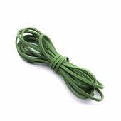 Замшевый шнур 3 мм, цвет зеленый