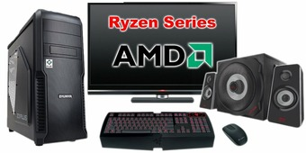"""Компьютер Игровой c монитором 22"""" AMD Ryzen 119558"""
