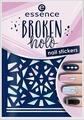 Наклейки для ногтей Essence Broken holo, №12, 5 г