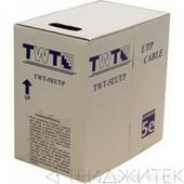 Кабель UTP, 100 пар, Кат. 5e, синий, 305м в кат., TWT