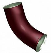 Слив (отмет) водосточной трубы Grand Line Optima 125/90 круглое сечение, красный