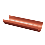Желоб водосточный Технониколь D-125, Красный, 3м