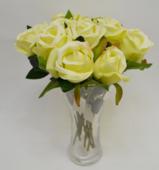 Цветок искусственный Роза одиночная, 30 см.