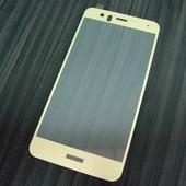 для Huawei P10 Lite Защитное стекло Ainy Full Screen Cover 2,5D 0,33 мм золотое