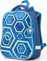 Ранец для мальчика Brauberg Premium Техно, с брелоком, синий, 17 л