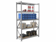 Стеллажи металлические сборные Промет Практик MS Pro 250/150х60/5 (5 полок)
