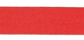 Лента киперная, 22 мм, 50 м, арт. 07-1019(13) (цвет: красный)