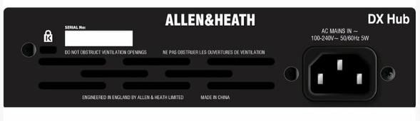ALLEN&HEATH DLIVE-DX-HUB Дистрибьютор цифровых аудио сигналов