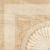 Beryoza Ceramica Агат G палевый Декор 1 42x42
