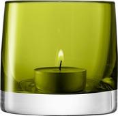 Подсвечник Lsa International Light, цвет: зеленый, высота 8,5 см