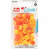Кнопки Color Snaps пластик 30 шт разноцветные Prym Love 393004