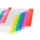 Обложка для учебников, универсальная, 90 мкм, ПВХ, цветной клапан, 232*455 мм (Alingar)