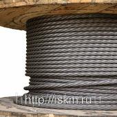 Канат буксировочный стальной ГОСТ 3088-80 оцинкованный 49.5