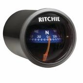 Компас с конической картушкой Ritchie Navigation Sport X-21BU чёрный/синий 51 мм 12 В врезается в переборку
