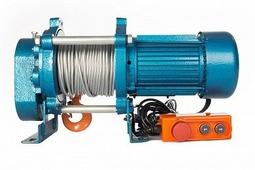 Лебедка TOR KCD-500 E21 (500 kg, 380 В ) с канатом 100 м
