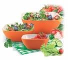 Пиала-салатник квадратная оранжевая, 20 см Bradex TK 0133