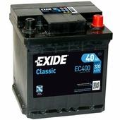 Аккумулятор для легковых автомобилей Exide Classic EC400 (40 A/h), 320A R+