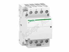 Контакторы модульные Schneider Electric iCT Модульный контактор 40A 3НО 220/240В АС Schneider Electric, A9C20843