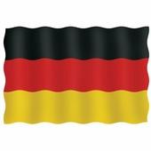 Maritim Флаг Германии гостевой из перлона/шерсти 20 x 30 см 20030-33109