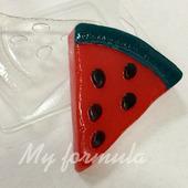 Арбуз - форма для мыла пластик