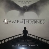 "Ramin Djawadi ""Игра престолов - музыка из сериала / 5 сезон // Ramin Djawadi - Game Of Thrones (Music From The Hbo Series) Season 5 (чёрный винил)"""