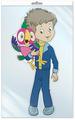 Сфера ТЦ издательство Ф2-12609-П плакат вырубной В пакете: Попугай с Вовкой (из м/ф) в инд. упаковке