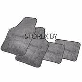 Автомобильные коврики (Ковролин) универсальные, комплект 4шт. PET602 GY