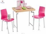 Набор мебели Barbie для дома - Обеденный стол DVX45