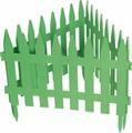 """Забор декоративный Palisad """"Рейка"""", цвет: зеленый, 28 см х 3 м"""
