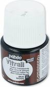 Pebeo Краска для стекла и металла Vitrail лаковая прозрачная цвет 050-011 коричневый 45 мл