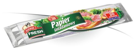 Бумага для бутербродов Gosia 23х32 см 20 шт