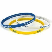 Набор силиконовых браслетов Реал Мадрид 3pk Silicone Wristbands