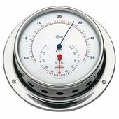 Термогигрометр из полированной нержавеющей стали Barigo Sky 983RFPO 110 x 32 мм барометр / гигрометр