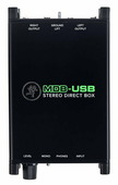 MACKIE MDB-USB стерео директ бокс со встроенным USB интерфейсом