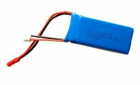 Аккумулятор LiPo 7.4V 2S 1200mAh для квадрокоптера WLtoys V666