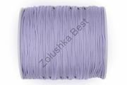 Шнур нейлоновый нежно-фиолетовый 1,2 мм