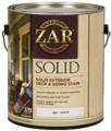ZAR (Зар) Solid Color Deck & Siding Exterior Stain Укрывное масло по дереву для наружного применения - Deep charcoal, 3.78 л, Производитель: ZAR