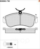 Дисковые Тормозные Колодки R Brake R BRAKE арт. RB0803700