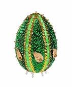 """Скидка! Мозаика из пайеток 3D """"Декоративное яйцо №2"""", размер 10*7см (Волшебная мастерская)"""