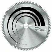 Пильный диск для точных пропилов 190/30мм Z60 (у.з. 15*/ДСП, дерево) BOSCH Optiline (2608641188)