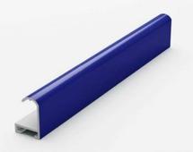 Анодированный алюминиевый профиль.3.05 м. Синий №2 Nielsen 02101