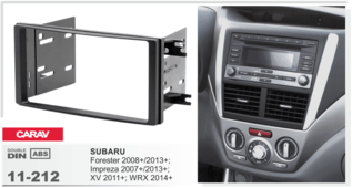 CARAV 11-212 - Subaru Forester 2008-2012, Impreza 2007-2012