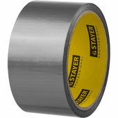 Армированная лента STAYER 48 мм х 10 м, серебристая, на тканевой основе 12080-50-10