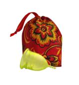 Менструальная чаша LilaCup, Размер M, Цвета желтая, с мешочком для хранения