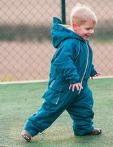 Комбинезон непромокаемый утепленный детский (бирюзовый)