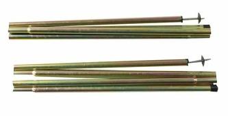 Стойки стальные 1,6x170 Alexika, диаметр 16мм; длинна 1700мм - 2 шт.