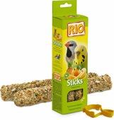 RIO Sticks Tropical Fruit палочки для волнистых попугаев и экзотических птиц с тропическими фруктами, 2*40гр