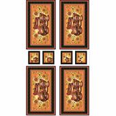 """Ткань для пэчворка PEPPY """"Русские традиции, панель"""", 60х110 см"""